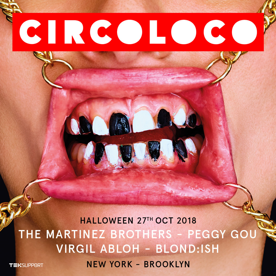Teksupport Announces Circoloco Halloween on October 27