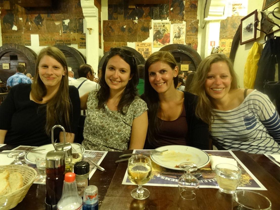 Generell hatte der viertägige Workshop kulinarisch einiges zu bieten. Von Tapas bis hin zu...