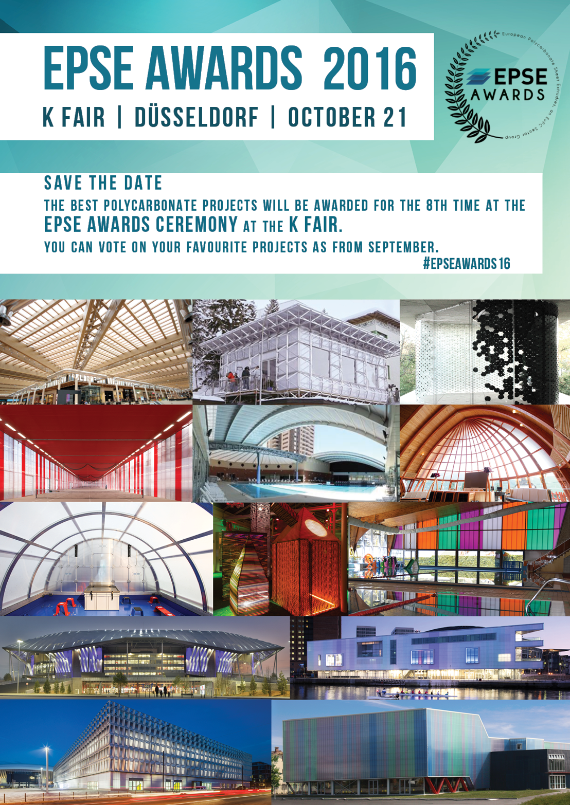 EPSE AWARDS CEREMONY 2016 | 21 October | K Fair Duesseldorf