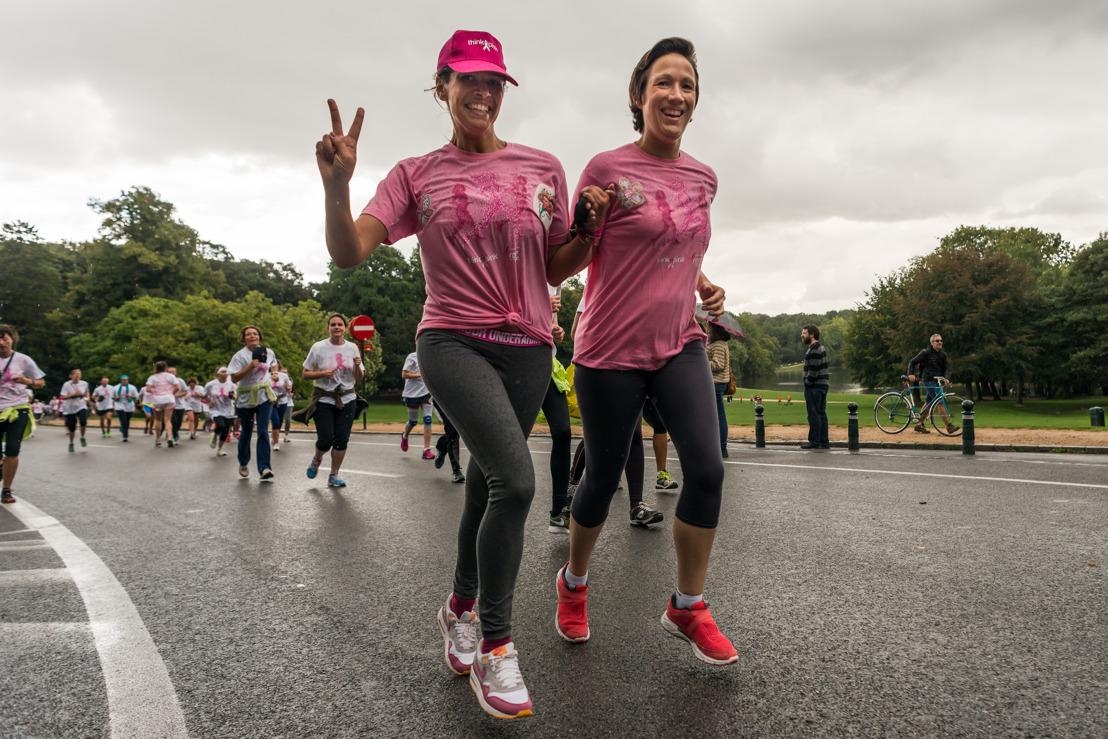 Think-Pink maakt zich klaar voor de grote 'Race for The Cure' in Antwerpen