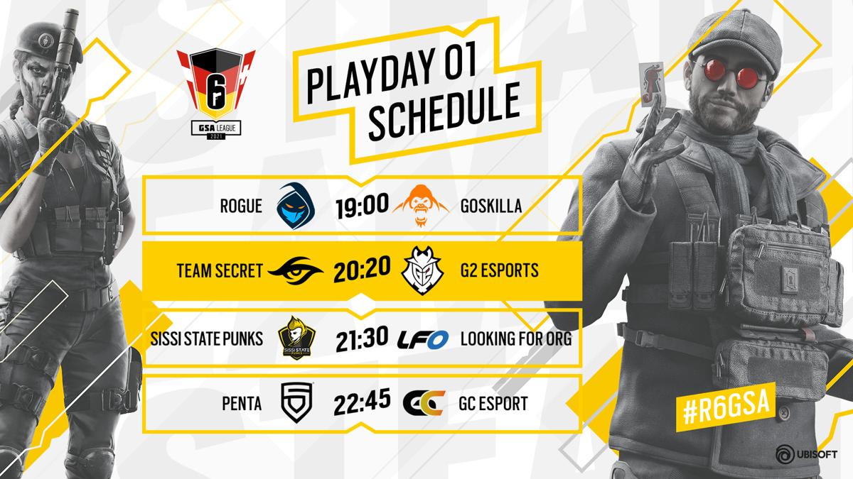 Gleich im 2. Match von Playday 1 treffen die EU League Teilnehmer Team Secret und G2 Esports aufeinander.