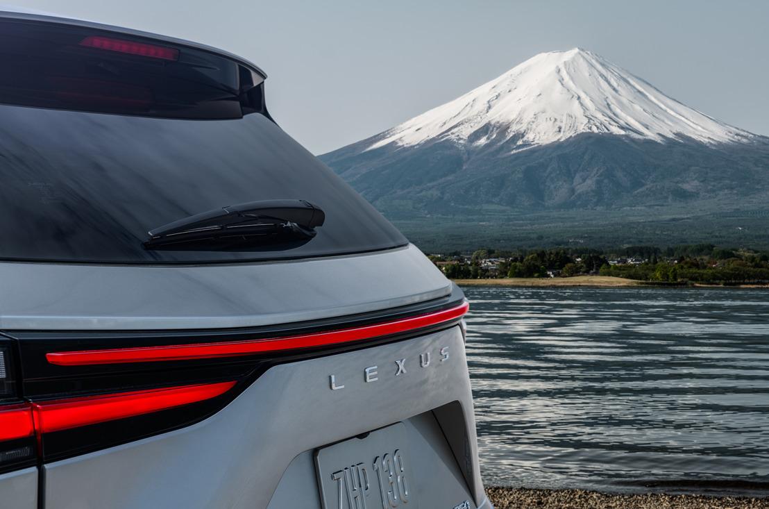 Le nouveau Lexus NX: première image teaser