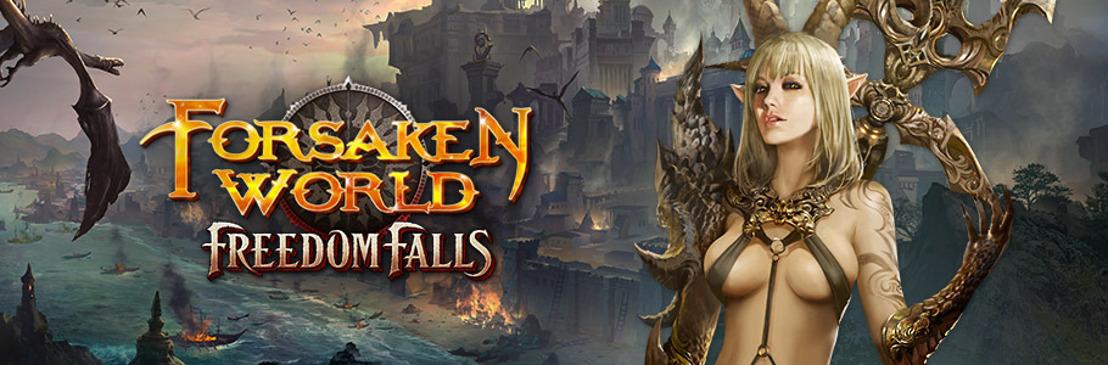 Forsaken World : Freedom Falls est maintenant disponible !