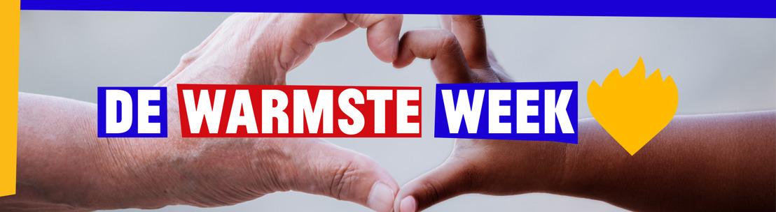 De Warmste Week start nieuw solidariteitsverhaal in Vlaanderen