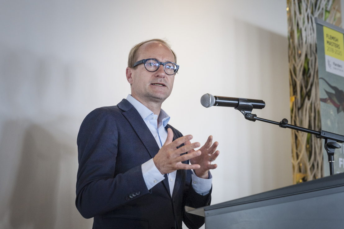 Ben Weyts, Vlaams minister voor Cultuur, photo Ans Brys