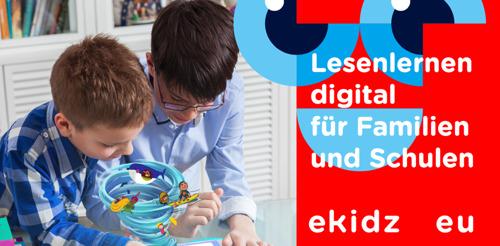 Lesenlernen digital für Familien und Schulen - Startup eKidz.eu schließt Partnerschaft mit Hugendubel