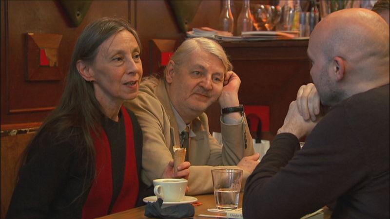 Het voordeel van de twijfel : De liefde - Sigrid Vinks, Jan Decorte en Stefaan Van Brabandt - (c) VRT