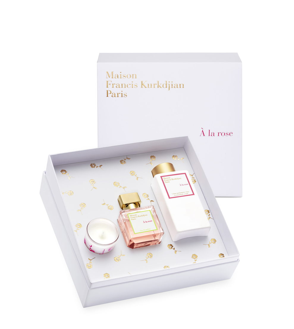 GR13 - Maison Francis Kurkdjian - a la rose gift set - 200euro