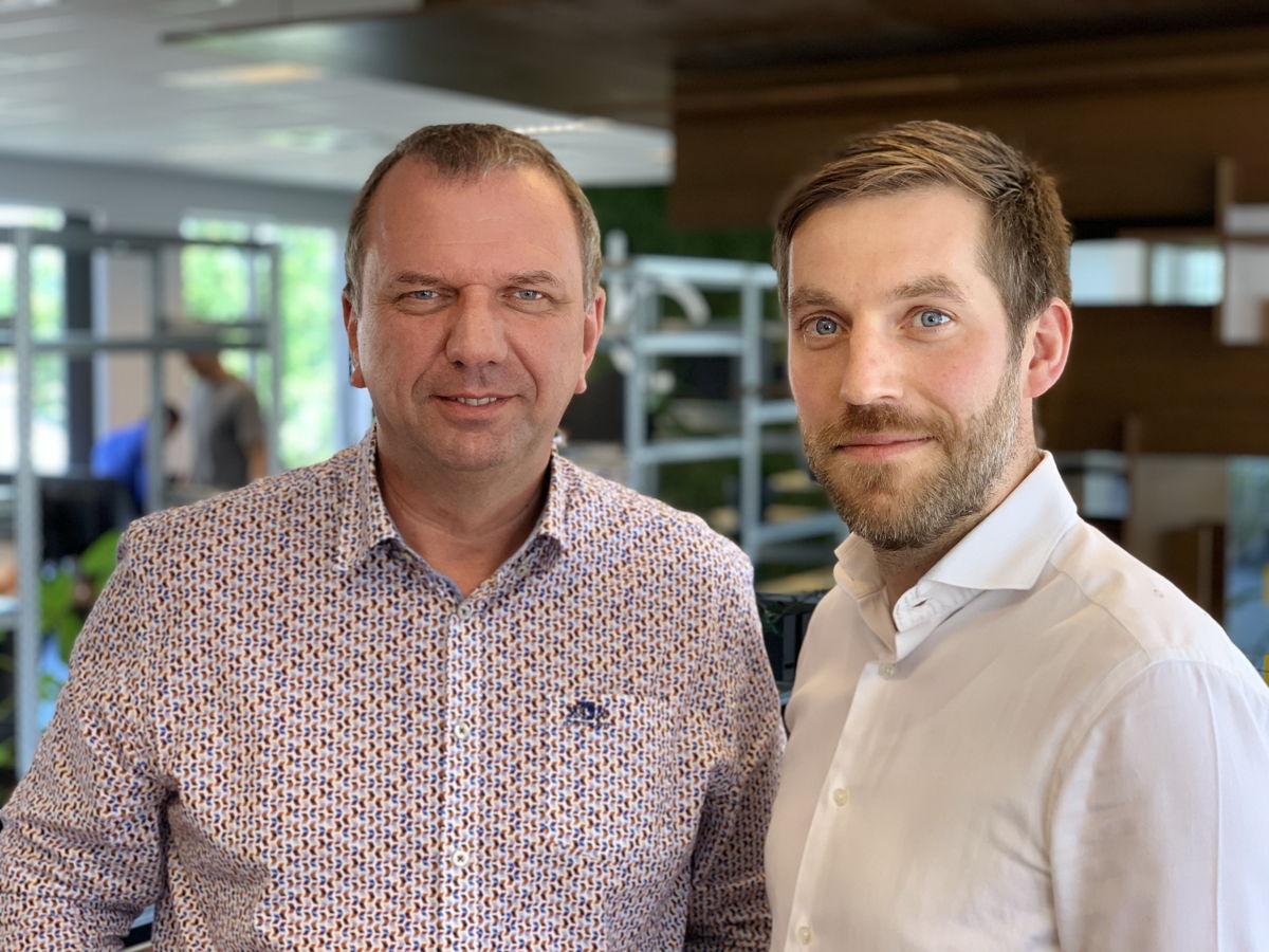 Geert Vanhove et Koen Jaspers