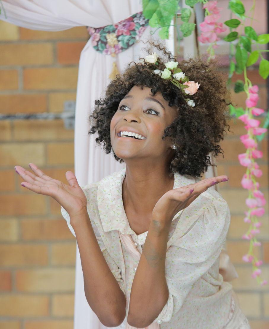 Vuyelwa Maluleke as Mariane in Tartuffe