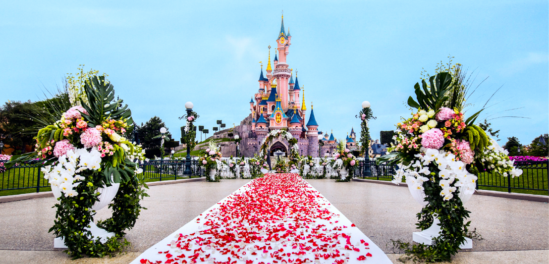 Trouwen in Disneyland Paris