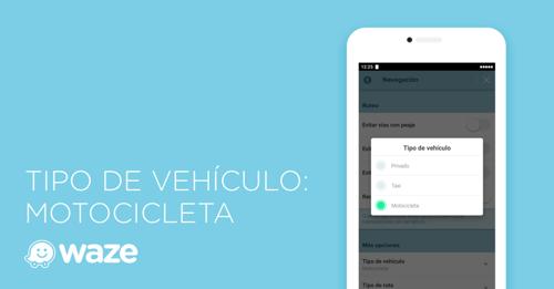 Ahora Waze ayuda a los motociclistas a encontrar las mejores rutas