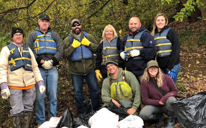 DLC Partners with Allegheny CleanWays, McKeesport to Clean Local Rivers