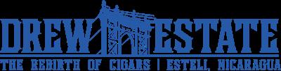 Drew Estate press room Logo