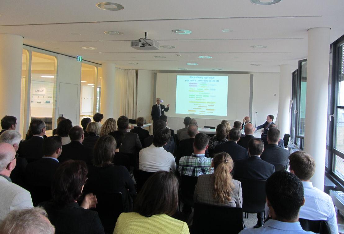 Nigel Talboys from Terumo BCT during his presentation