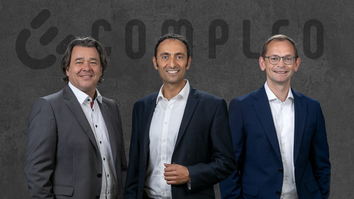Der neue Vorstand: Jens Stolze, Checrallah Kachouh und Georg Griesemann
