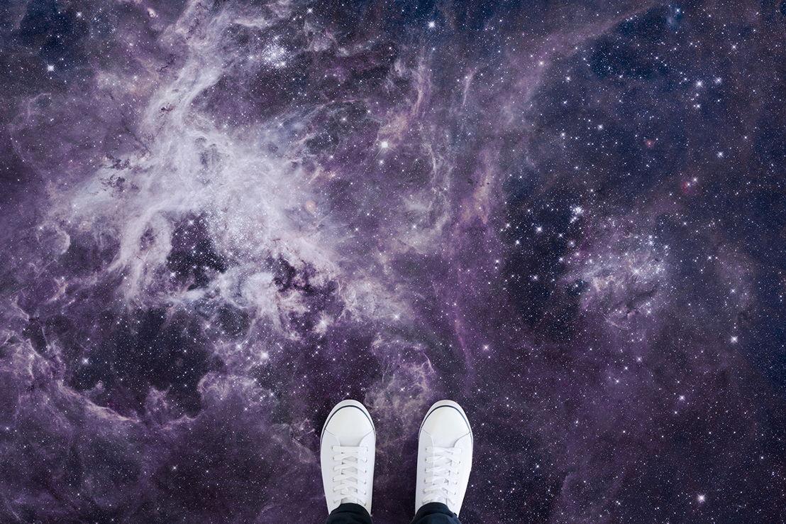 'Tarantula' - The Tarantula Nebula in  Pantone's Ultra Violet