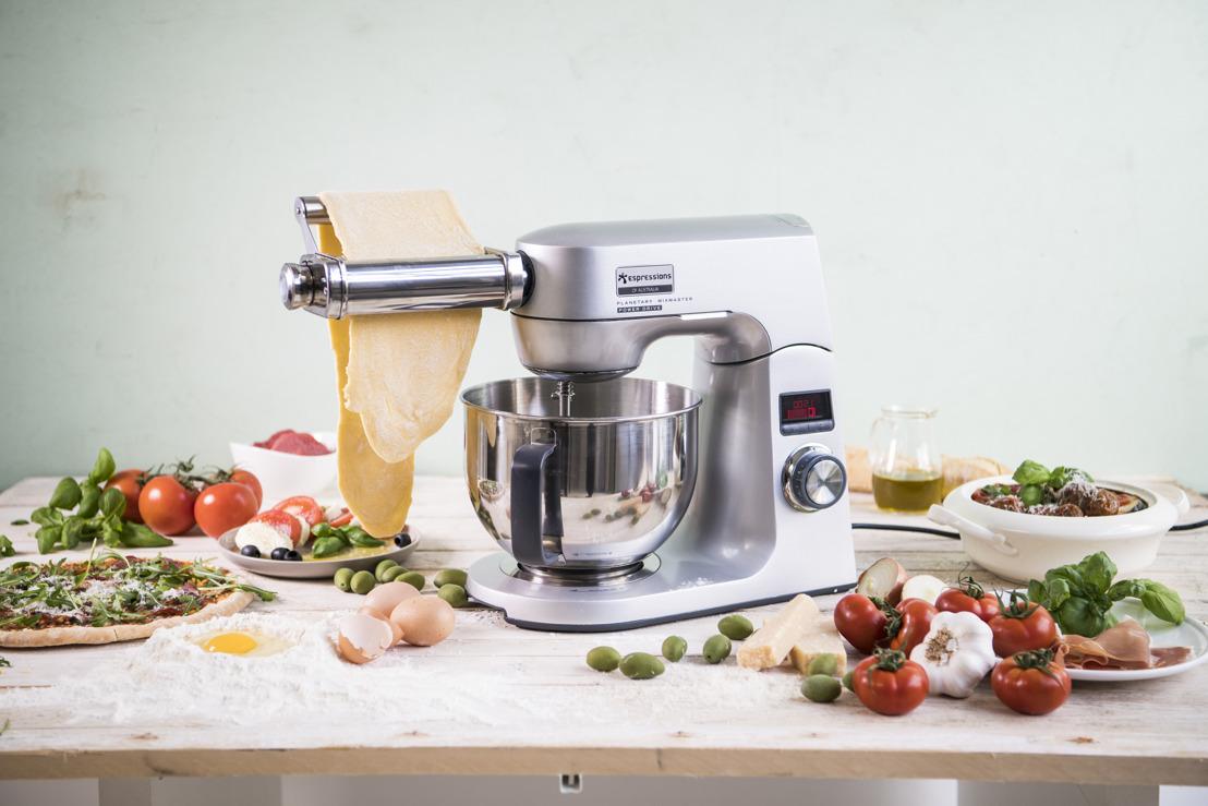 Haal een Italiaanse chef in huis met de MixMaster Combo!