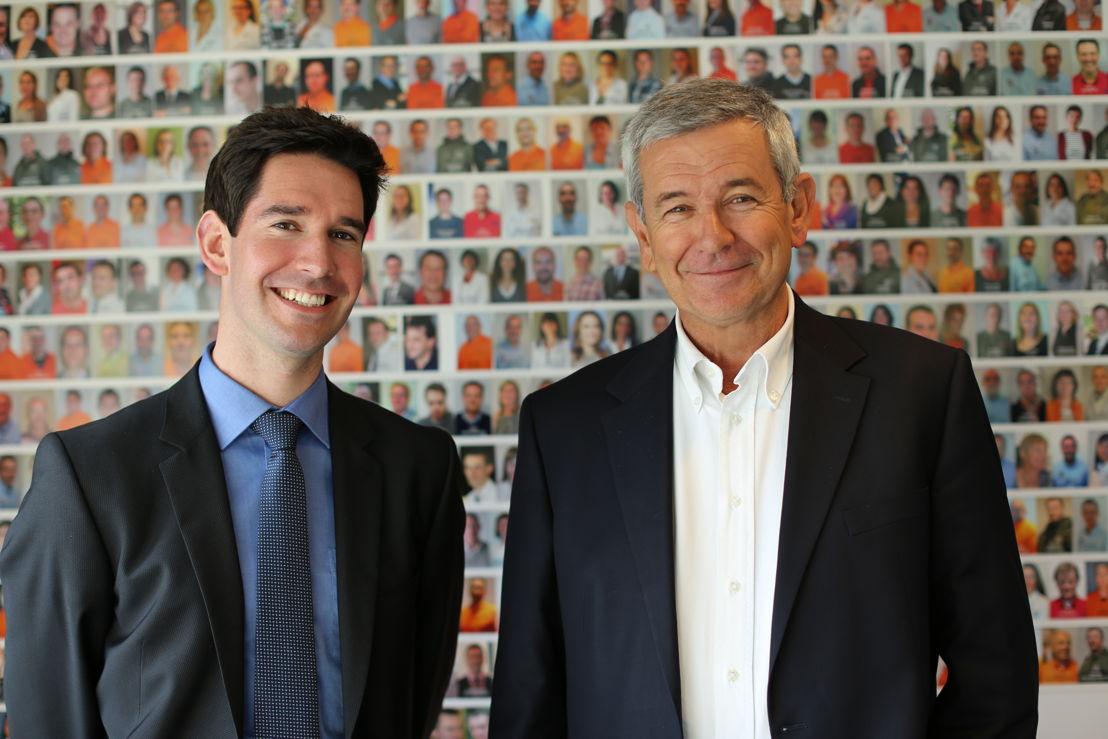 Frédéric et Philippe Taminiaux, de gauche à droite