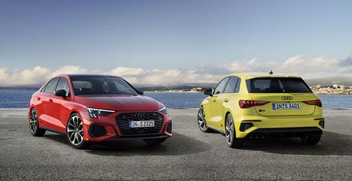 Meer dynamiek, meer kracht, meer rijplezier: de Audi S3 Sportback en de Audi S3 Berline