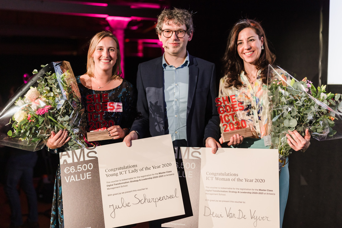 Dewi Van De Vyver verkozen tot ICT Woman of the Year 2020