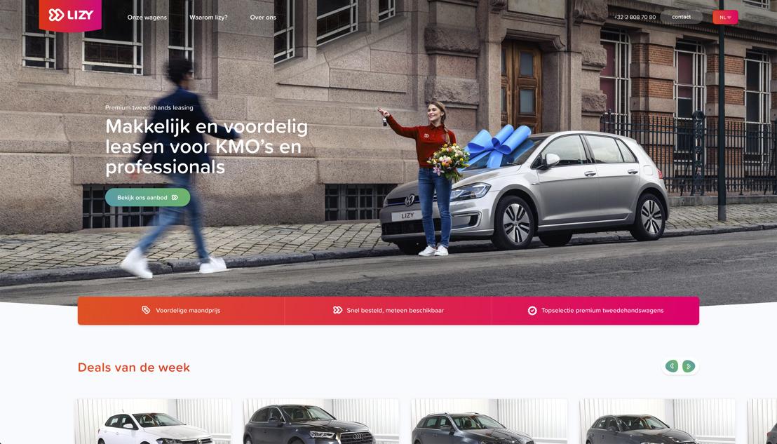Lizy - startup schudt leasingsector wakker met slim digitaal platform