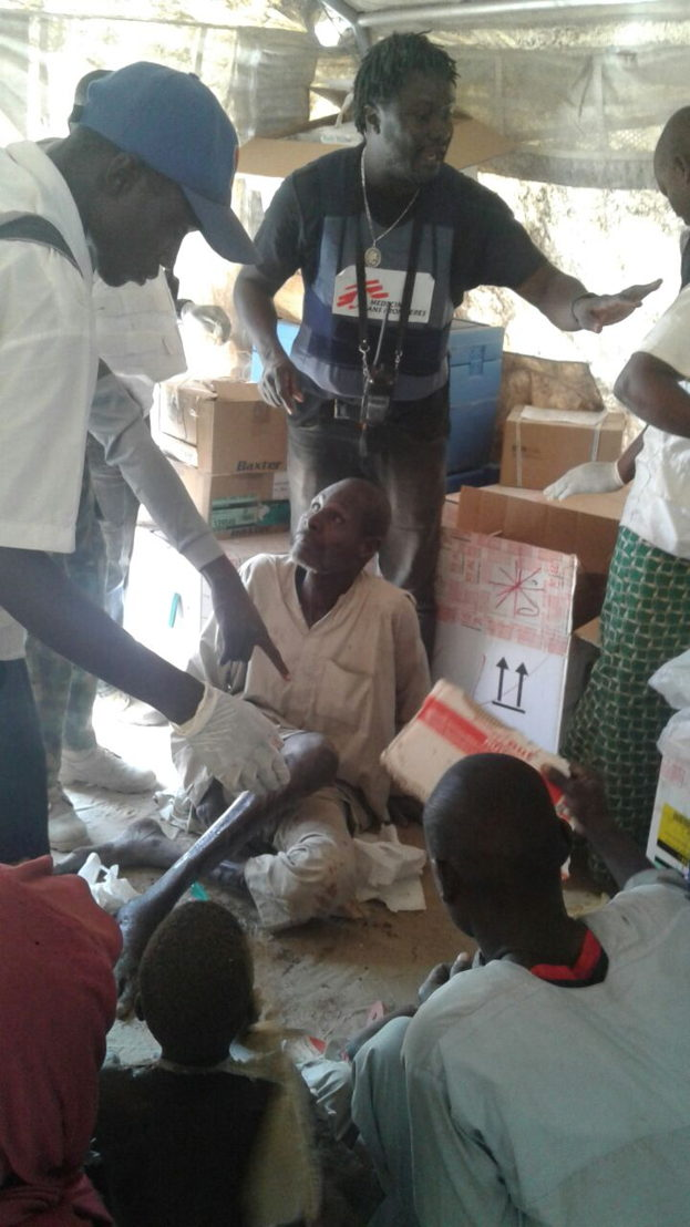 Nigeria, Bombardements sur le camp de Rann