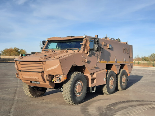 Nexter, Thales et Arquus succeed in presenting the 128 GRIFFONs planned for 2020