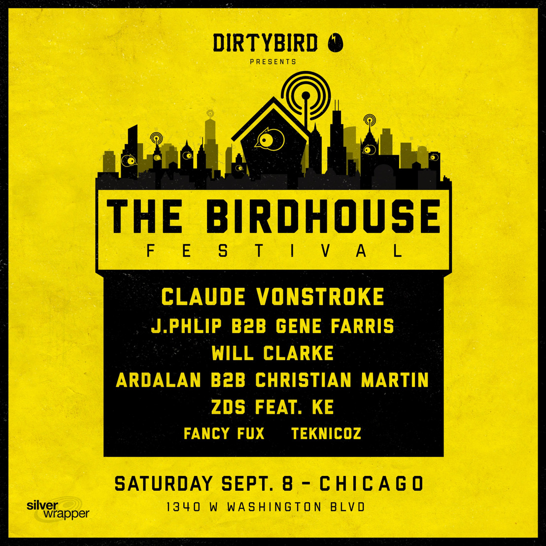 Dirtybird Announces Lineup for Inaugural Birdhouse Festival in Chicago