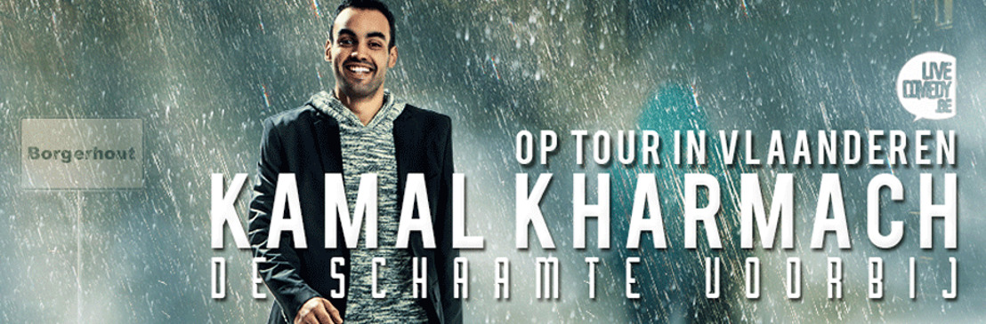 Kamal Kharmach on tour vanaf september