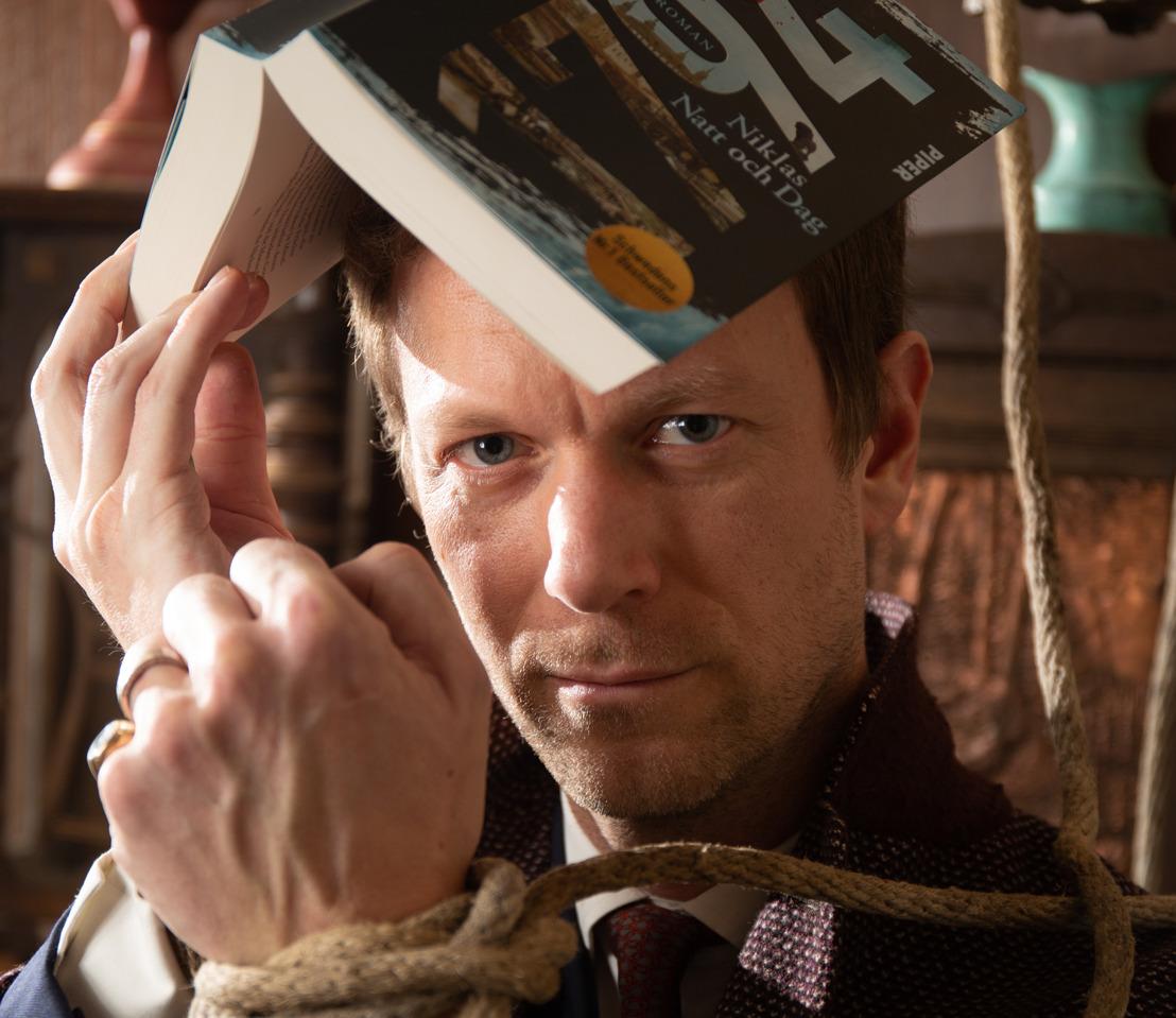 """Niklas Natt och Dag und Hugendubel feiern die Premiere des Escape Rooms zum Bestseller """"1794"""""""