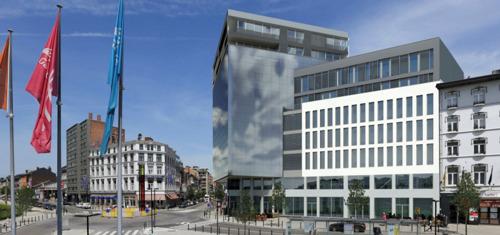 Liège Office Centre: een groots particulier project op toplocatie