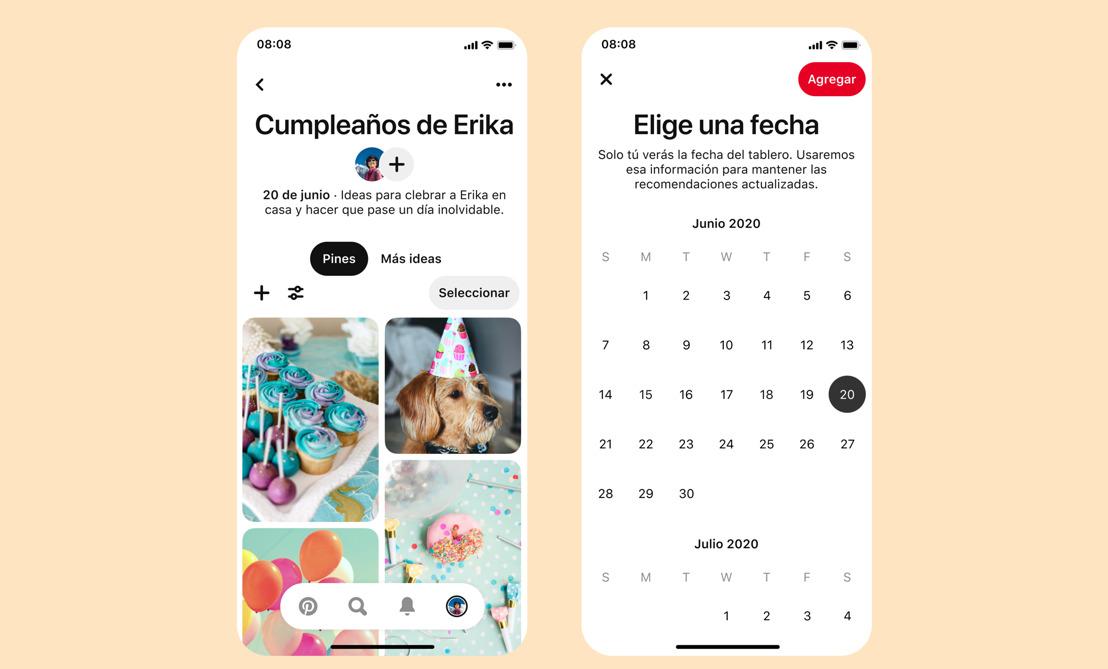 Organízate con las novedades de Pinterest: notas, fechas y recomendaciones para los tableros