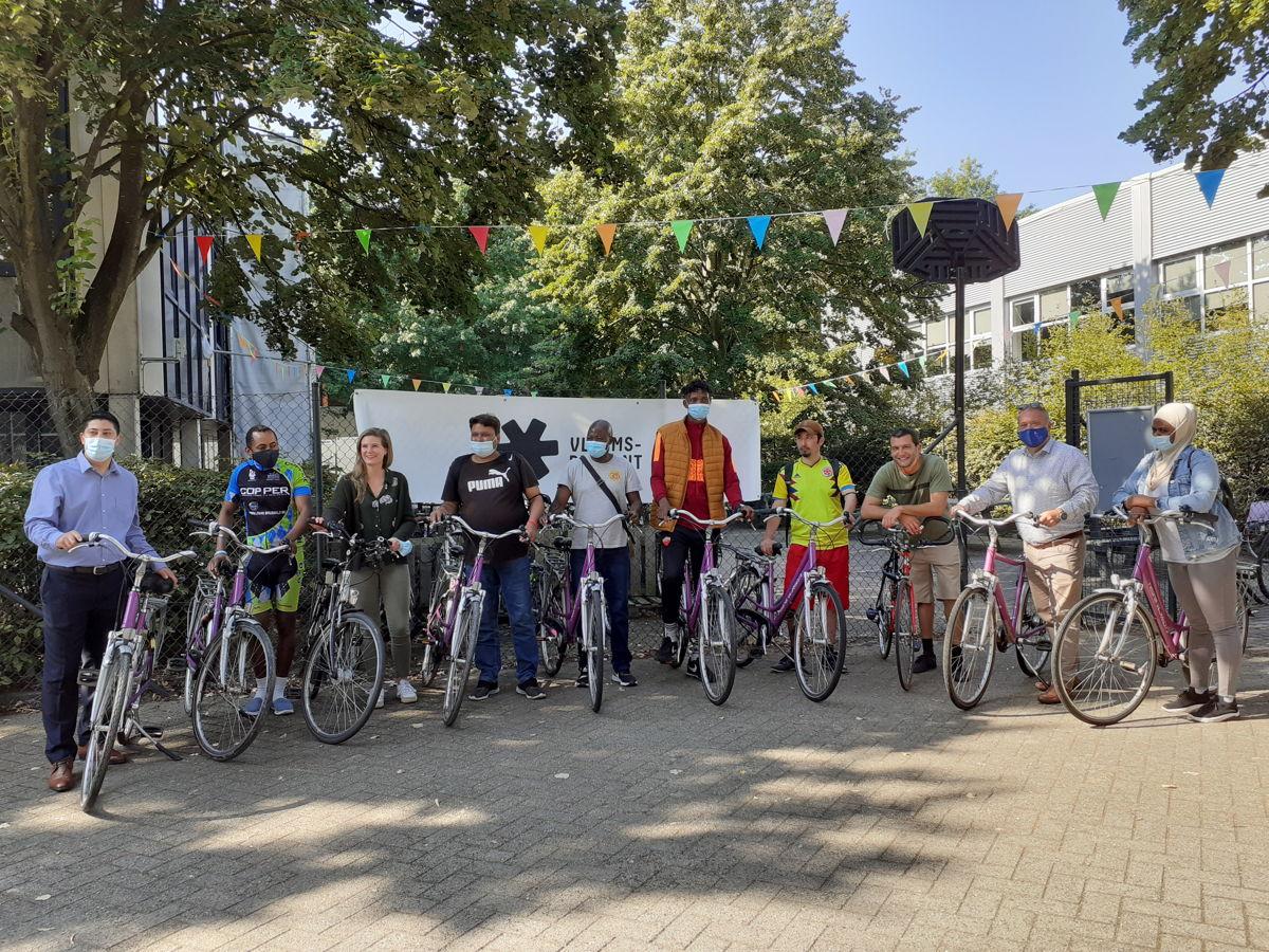 De Fietsvrienden van Zaventem fietsen een stuk van het Gordelparcours
