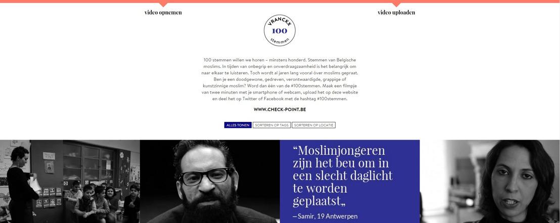 Rudi Vranckx zoekt getuigenissen van moslims voor 100stemmen.be