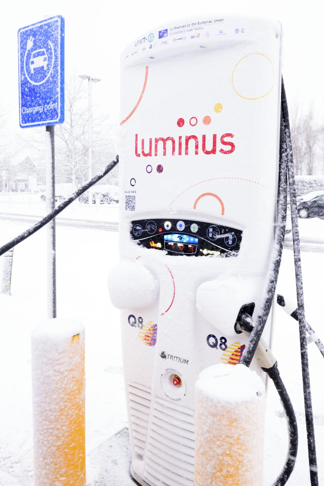 EDF Luminus en Q8 bouwen mee aan Europees netwerk van 300 snelladers voor elektrische wagens