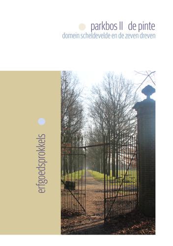 Met een tweede Parkbos-Erfgoedsprokkel doorheen het domein Scheldevelde in De Pinte