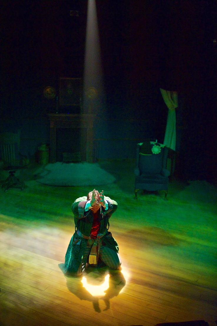 Anthony Rodriguez as Ebenezer Scrooge