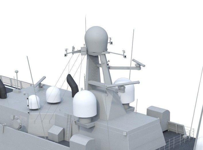 Le radar NS50 sur bateau