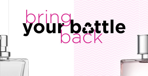 Bring Your Bottle Back: ICI PARIS XL verwerkt jouw beauty verpakkingen