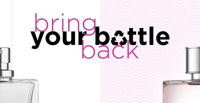 Bring Your Bottle Back: ICI PARIS XL verwerkt jouw beauty verpakkingen