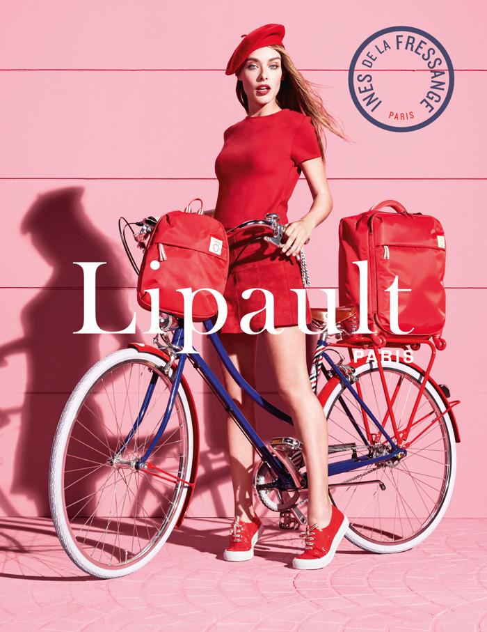 Icône de la mode Ines de la Fressange développe pour Lipault!