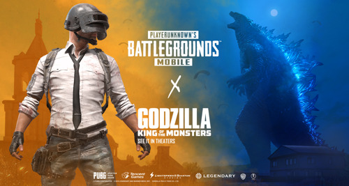 PUBG MOBILE ROMPE LA TIERRA CON LA COLABORACIÓN DE GODZILLA: KING OF MONSTERS