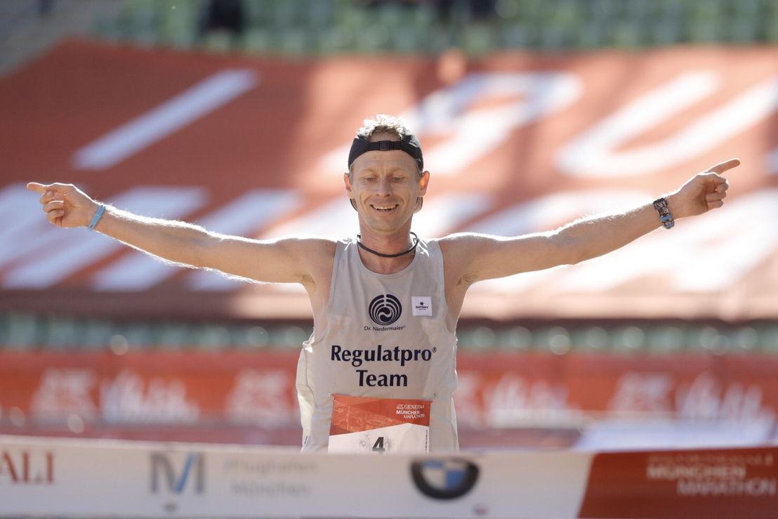 Andreas Straßner, Sieger des GENERALI MÜNCHEN MARATHON 2018 (2:27:58)