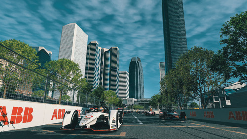 "ABB FIA Formula E Championship 2019/2020, round four of the ""Race at Home Challenge"""