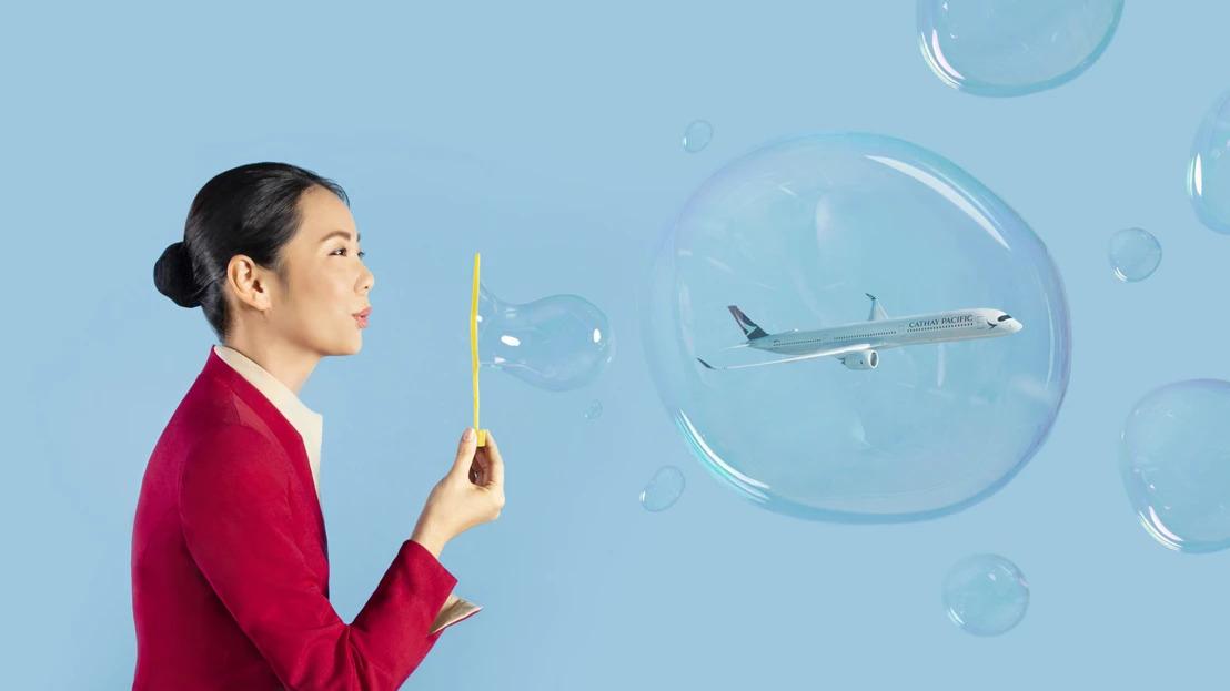 旅遊氣泡喜飛
