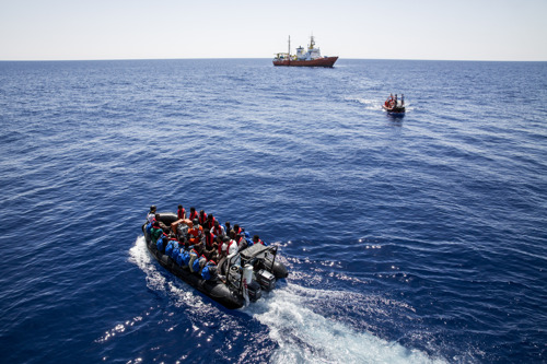 AQUARIUS FORCED TO TERMINATE OPERATIONS AS EUROPE CONDEMNS PEOPLE TO DROWN