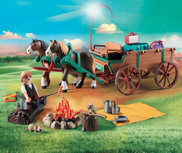 Spirit - Jim et charrette