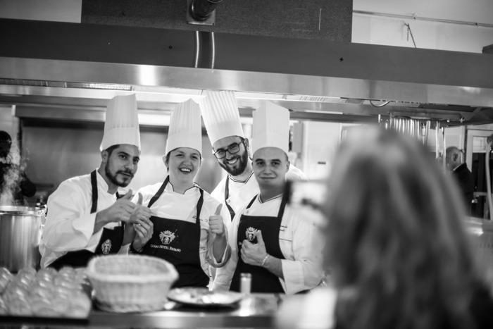 Lo chef Matteo Felter