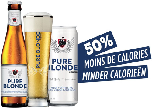 "JUPILER LANCEERT ""PURE BLONDE by Jupiler"""
